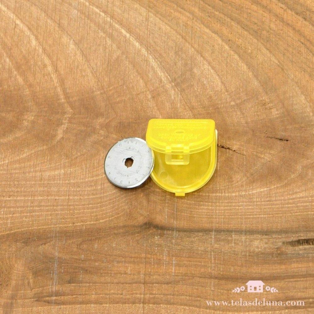 Juego de 2 cuchillas de repuesto para cúter Olfa circular 28 mm