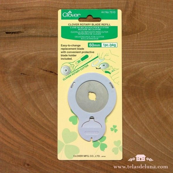 Cuchilla de repuesto para cúter Clover circular 60 mm