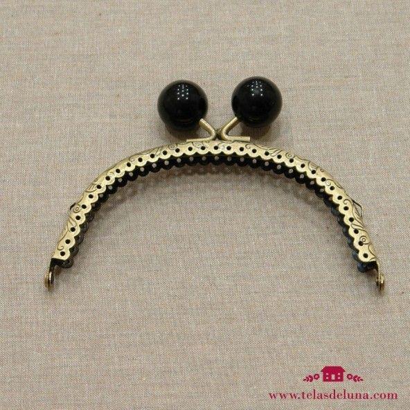 Boquilla latón 12,5 cm negro