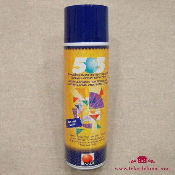 Spray adhesivo temporal 500 ml