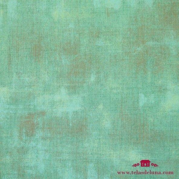 Tela vintage verde mar