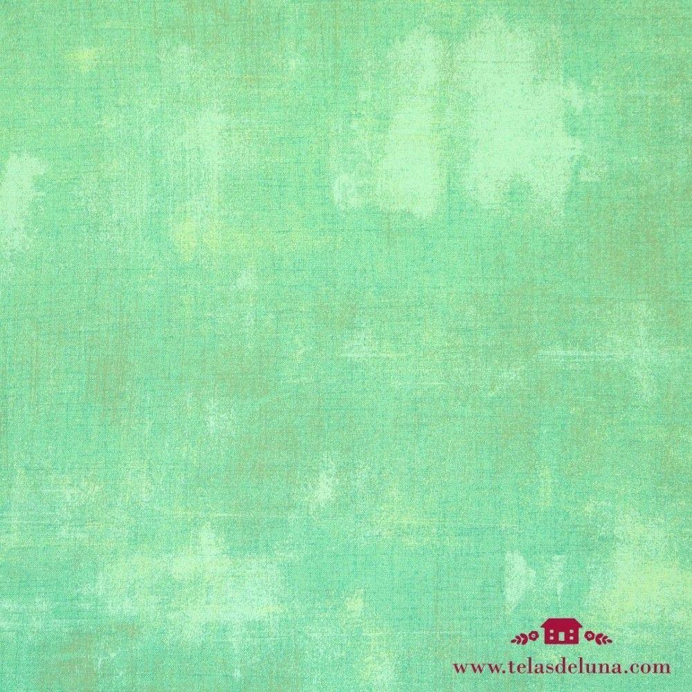 Tela vintage verde agua