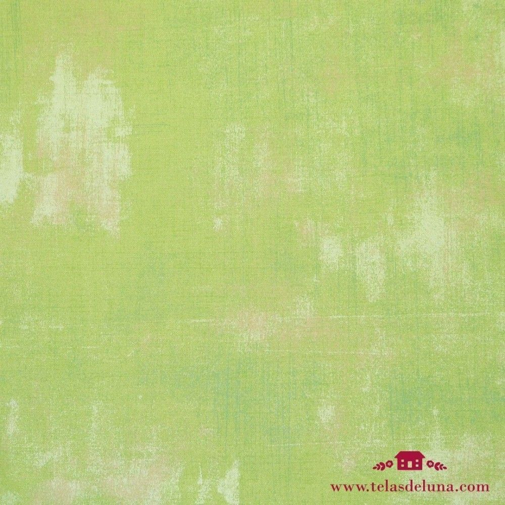 Tela vintage verde hierba