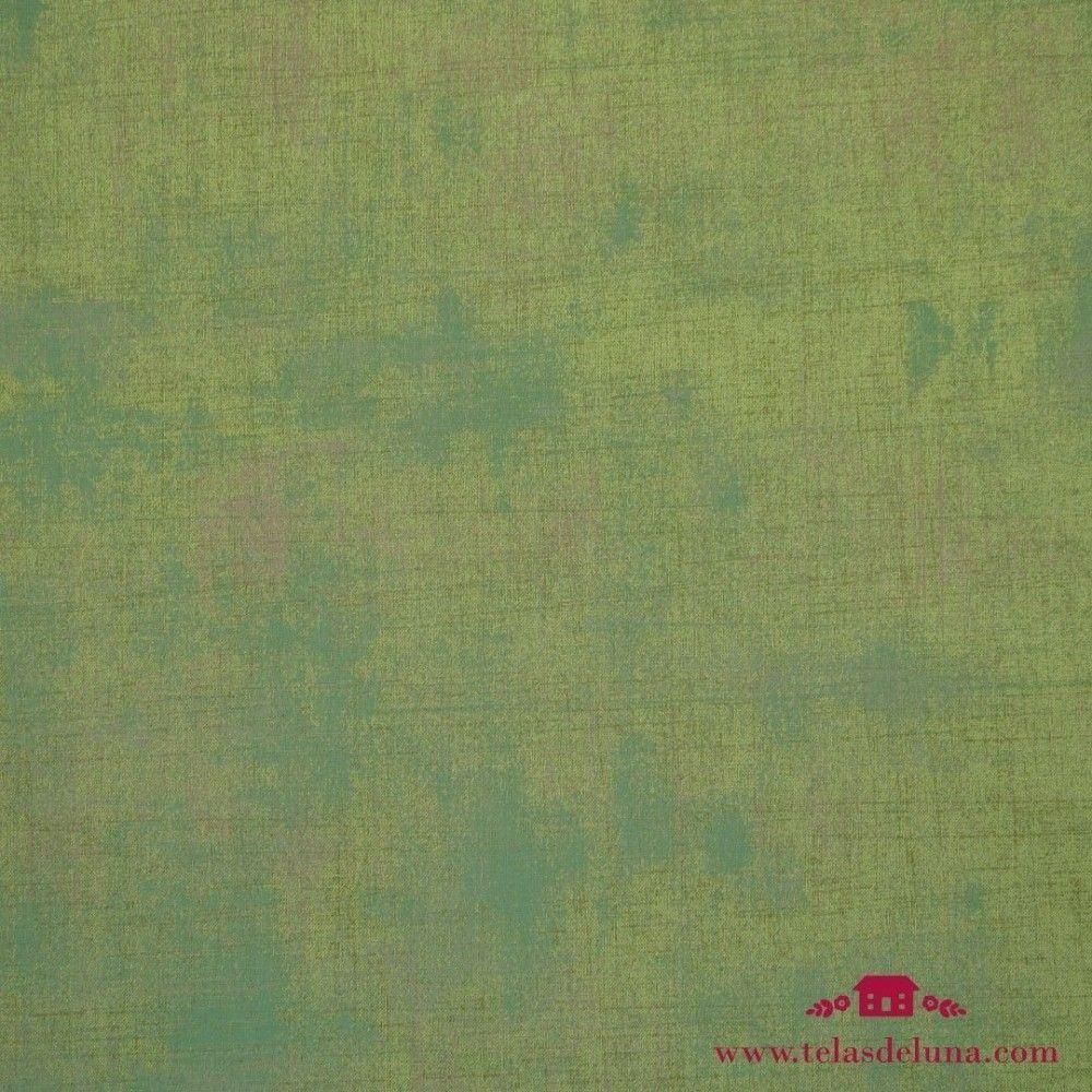 Tela vintage verde musgo