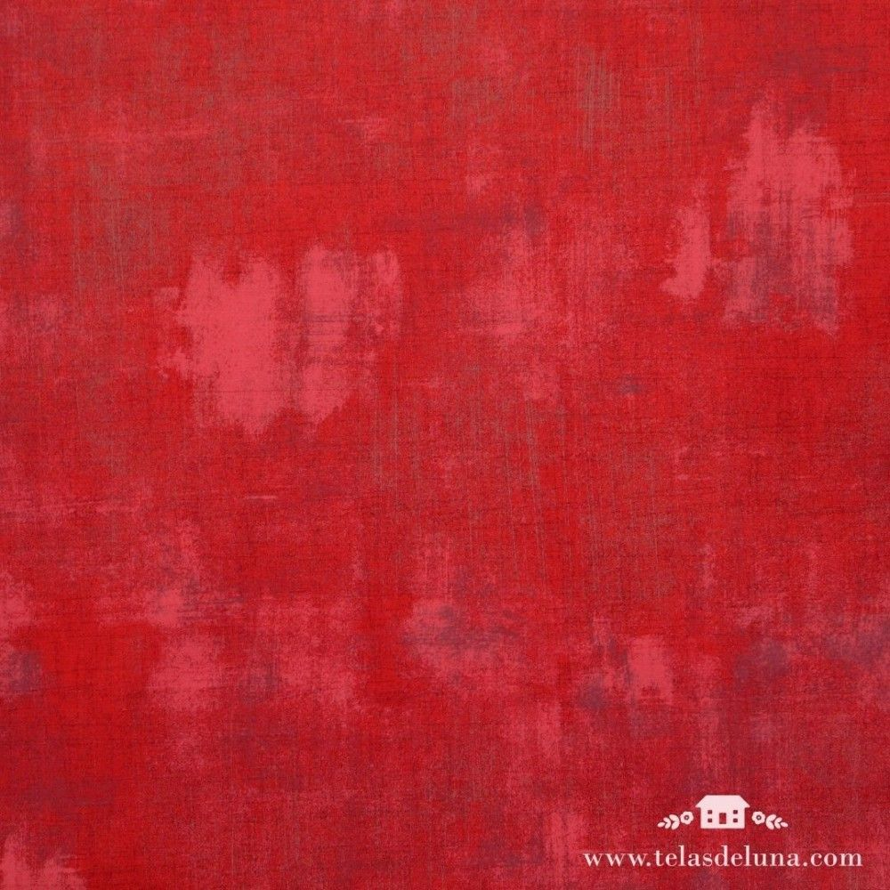 Tela vintage rojo