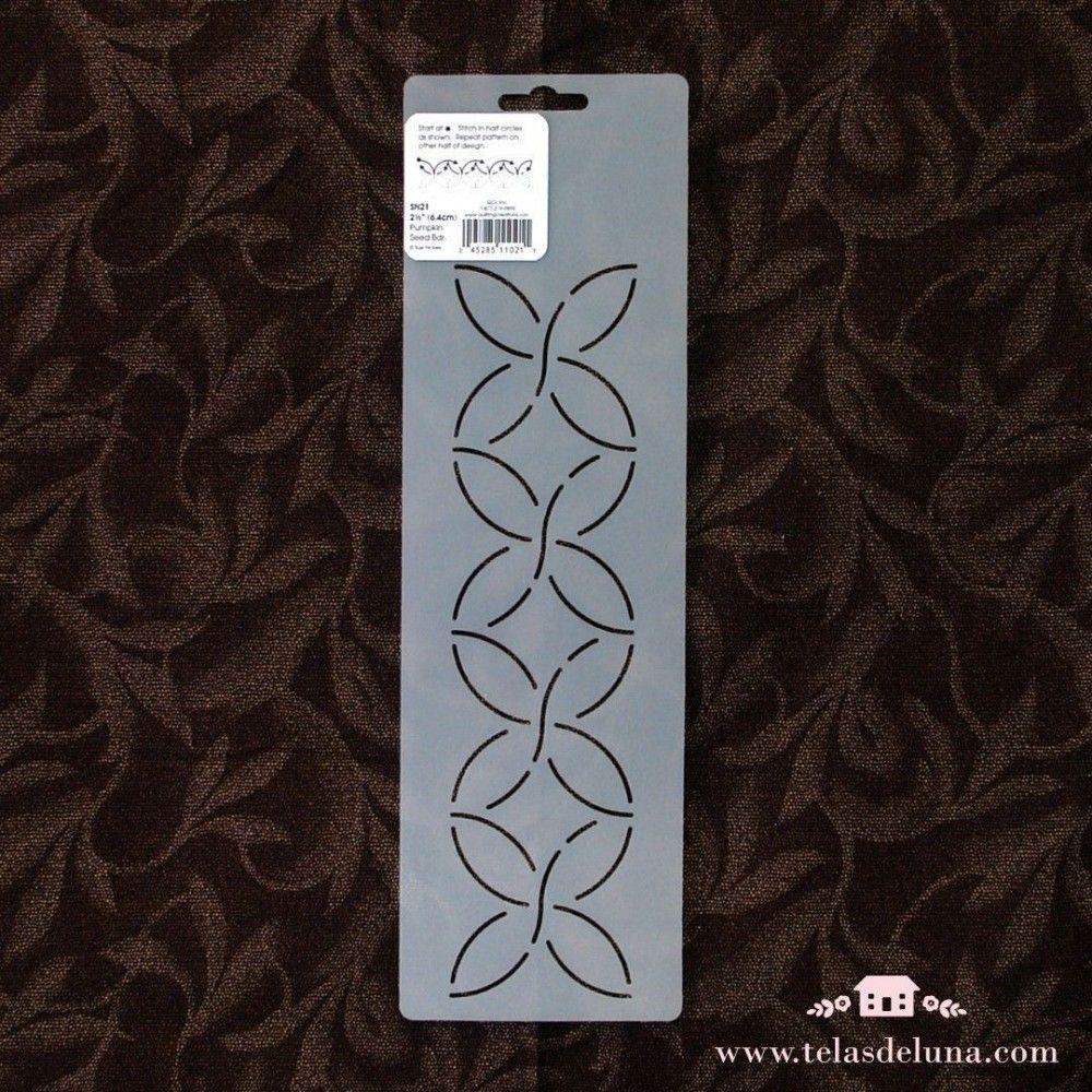 Plantilla semicírculos 6.4cm