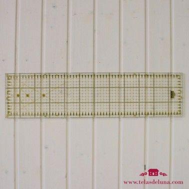Regla rectangular 15x60 cm