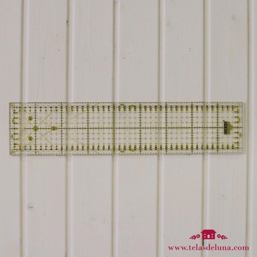 Regla rectangular 10x45 cm