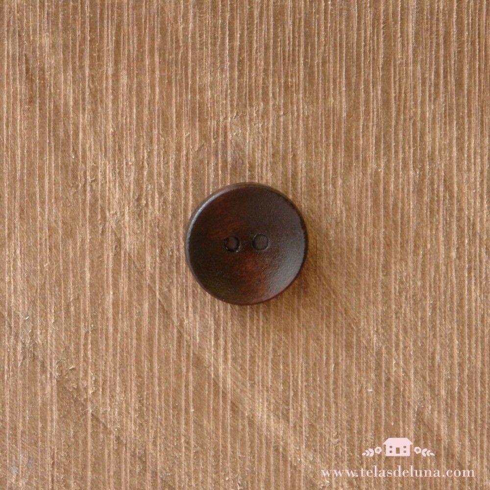 Botón de coco pequeño