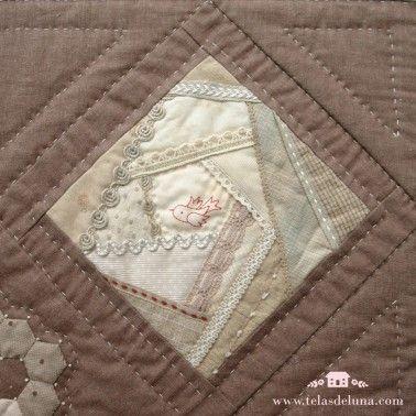 Kit Quilt Bloque 3 con telas