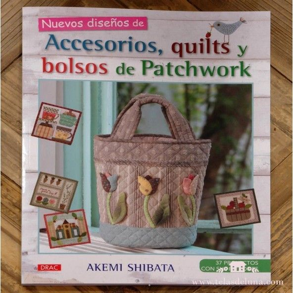 Nuevos diseños de accesorios quilts y bolsos de Patchwork