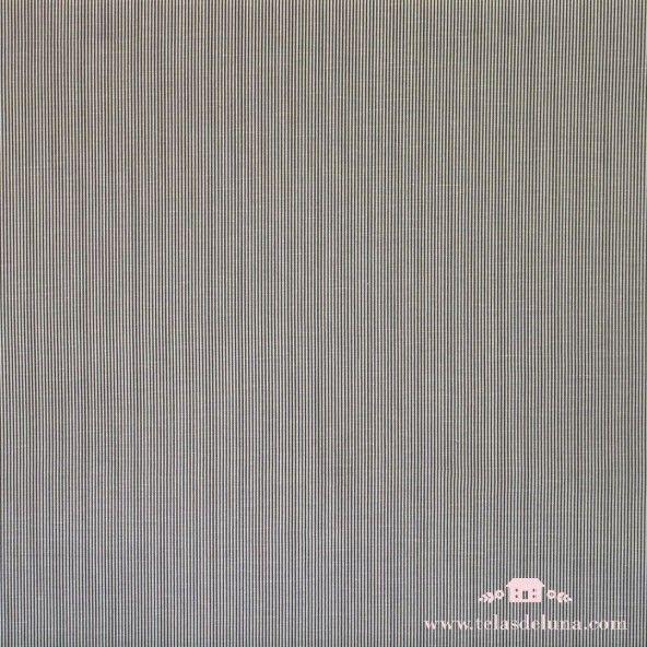 Lino rayas blancas y grises