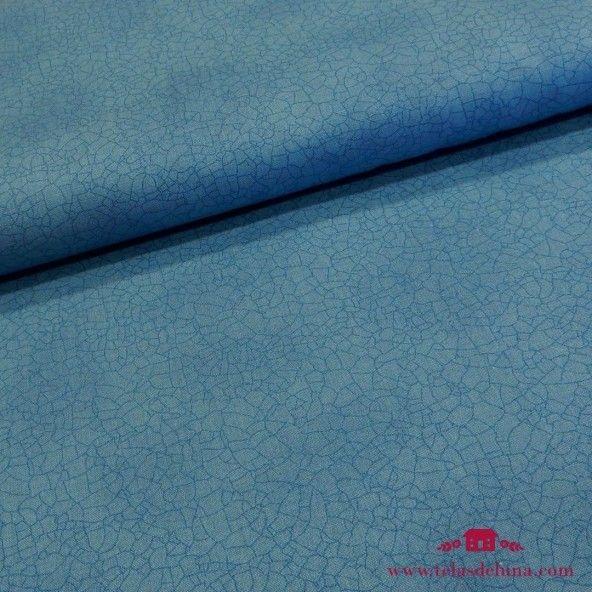 Tela granate azul Moda Fabrics