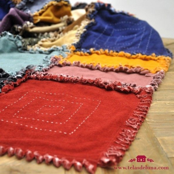 "Kit ""Manta Apache"" patchwork"