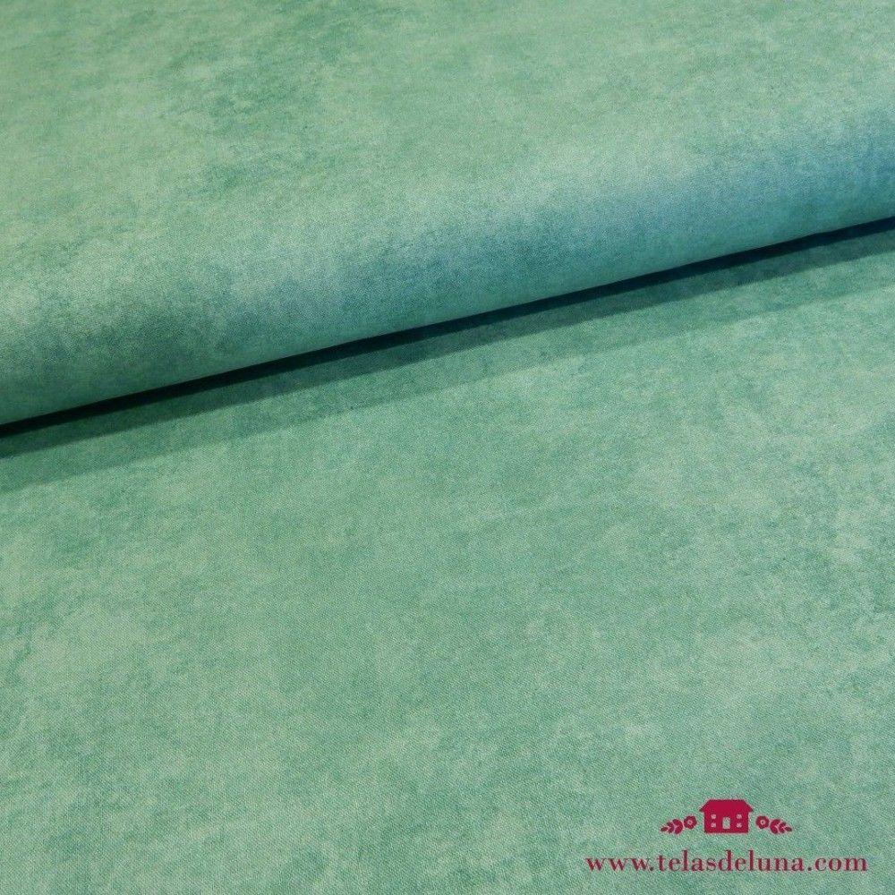 Tela marmoleada tonos verdes
