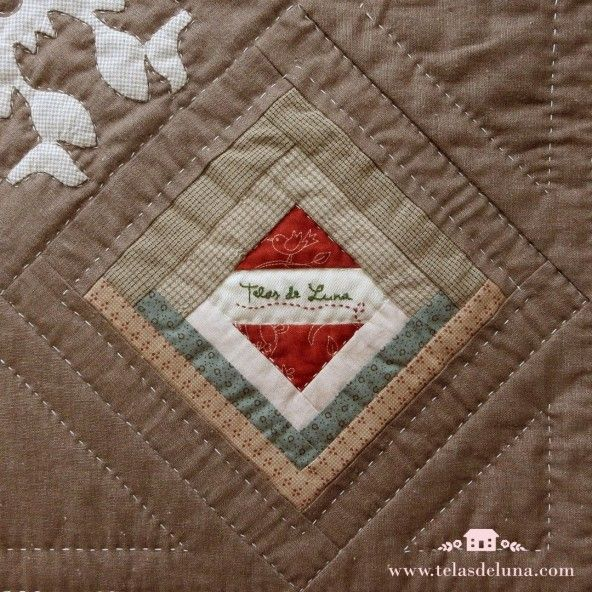 Kit Quilt Bloque 13 Próximamente / con telas