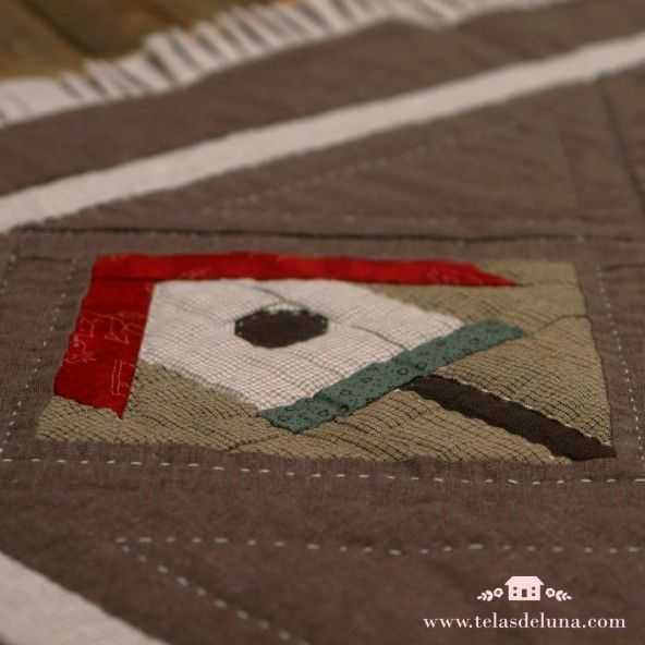 Kit Quilt Bloque 1 / con telas