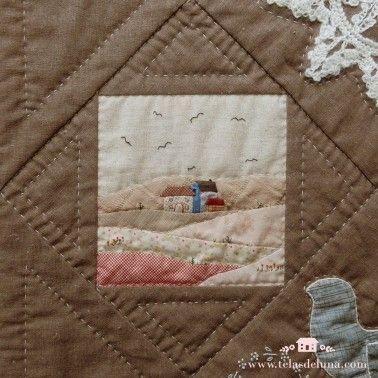 Kit Quilt Bloque 6 / con telas
