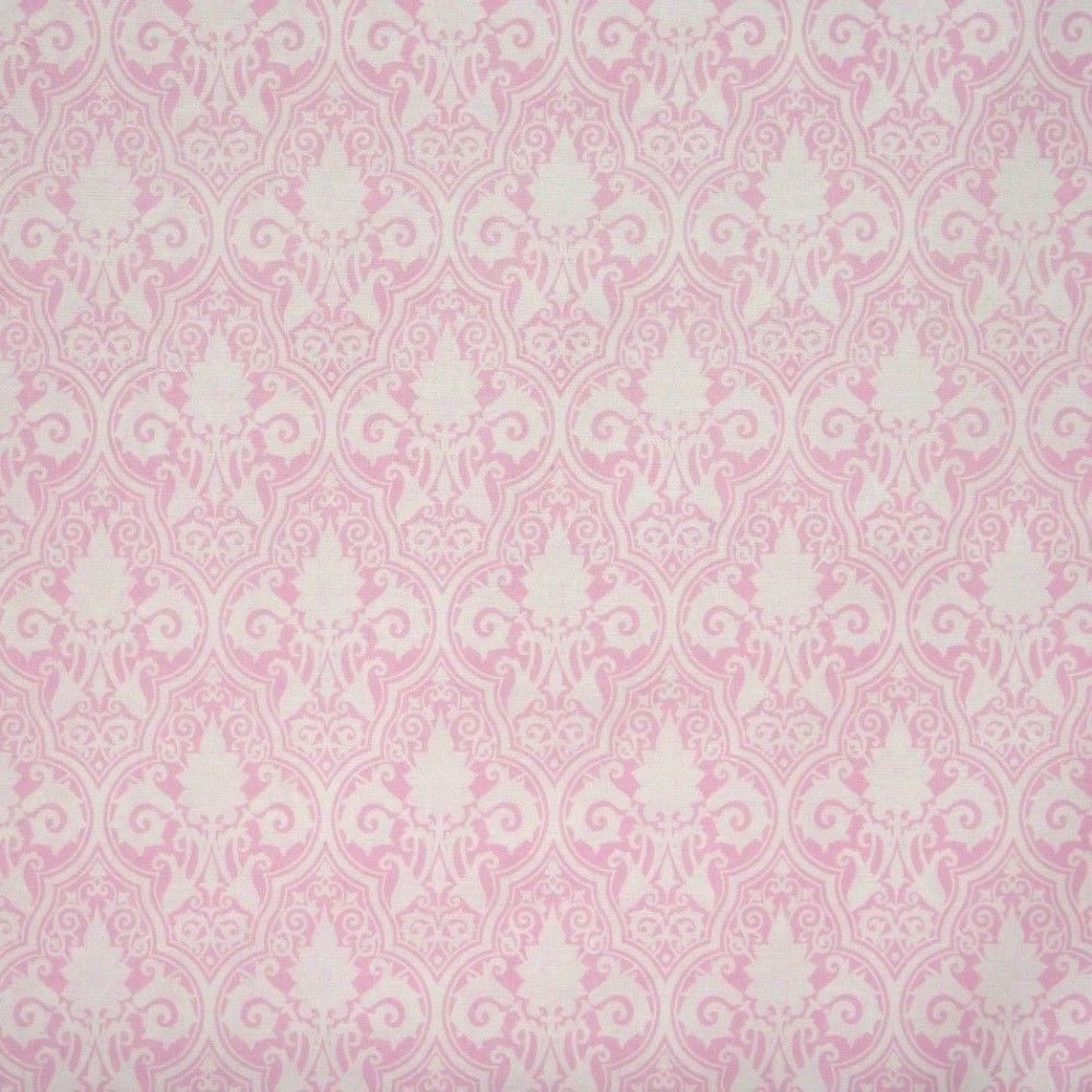 Tela rococó rosa