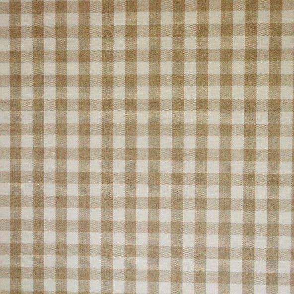 Mantel resinado lino vichy beige