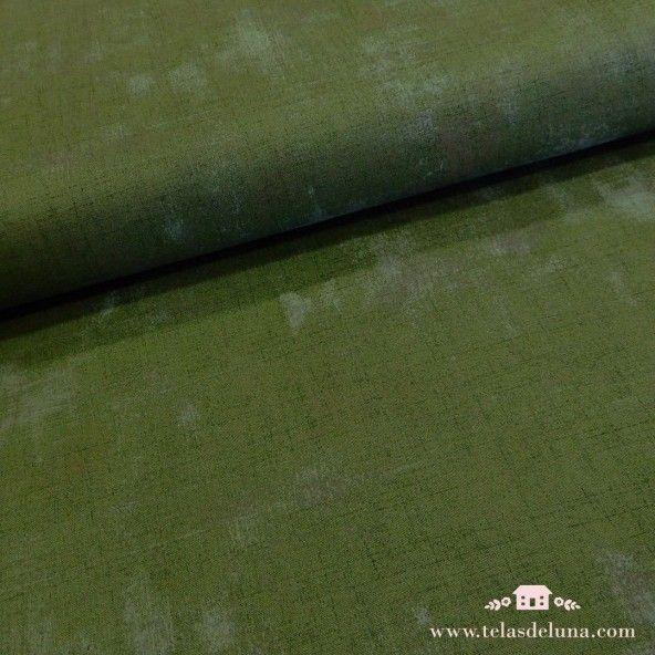 Tela Moda Fabrics grunge verde