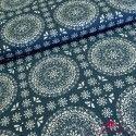Tela Gütermann mosaico azul