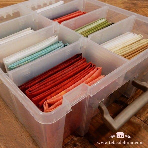 Caja organizadora con múltiples divisiones