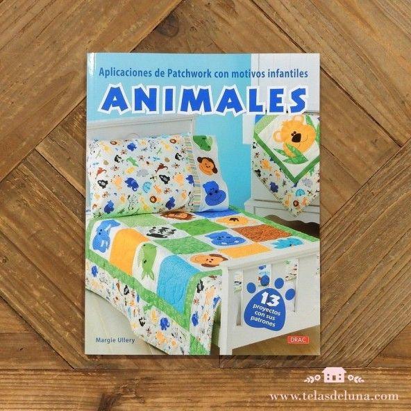 Aplicaciones patchwork con motivos infantiles Animales