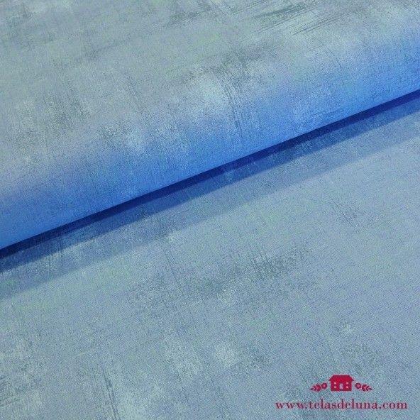 Tela grunge Moda Fabrics azul
