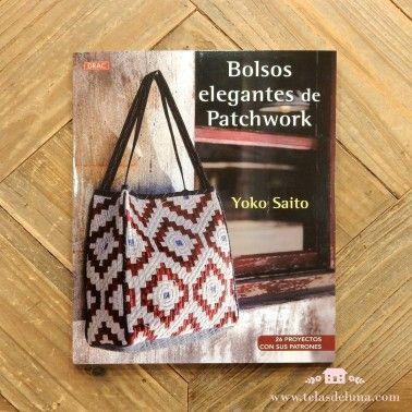 bolsos elegantes de patchwork