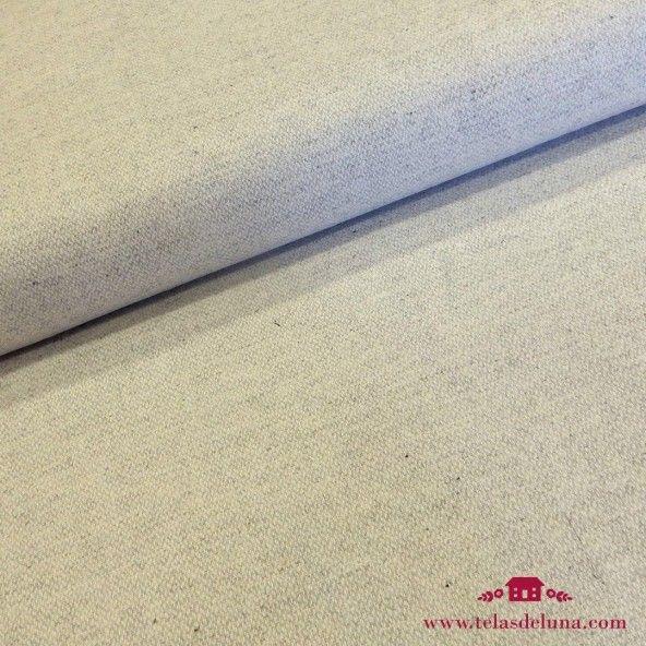 Tela de lana gris