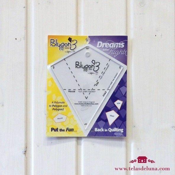Regla Polygon3 tool (Volviendo al acolchado)