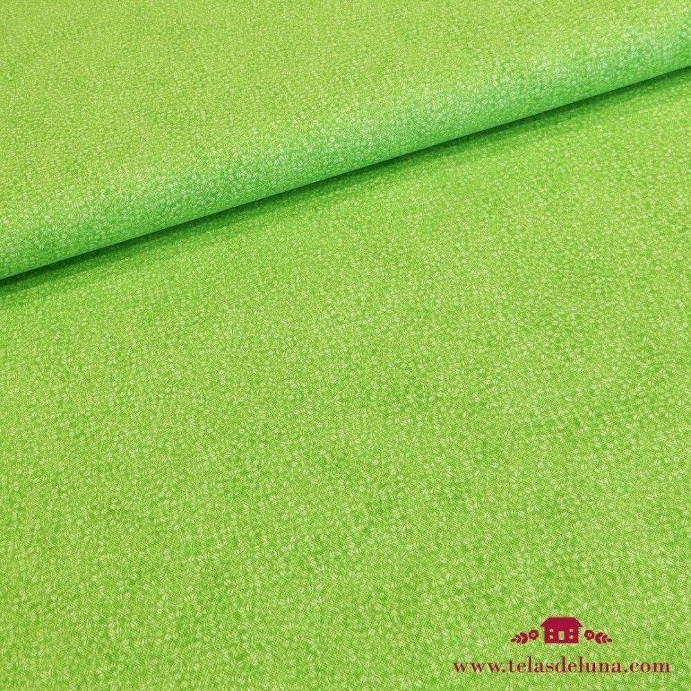 Tela verde con granos de café