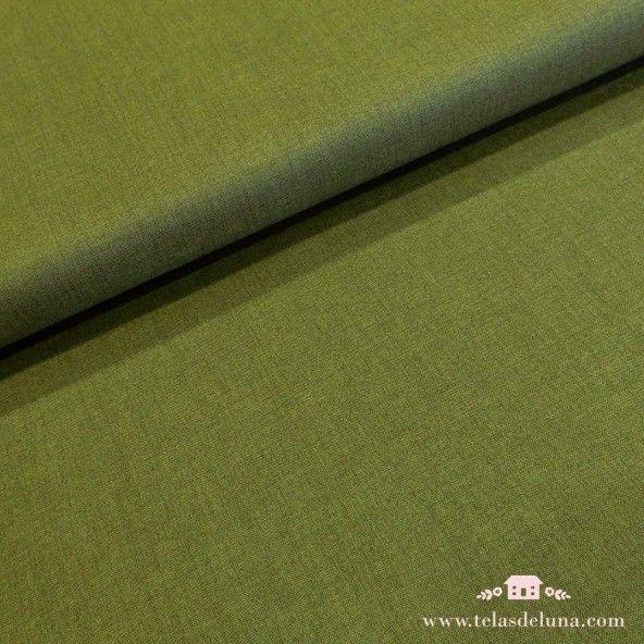 Tela verde musgo Moda Fabrics