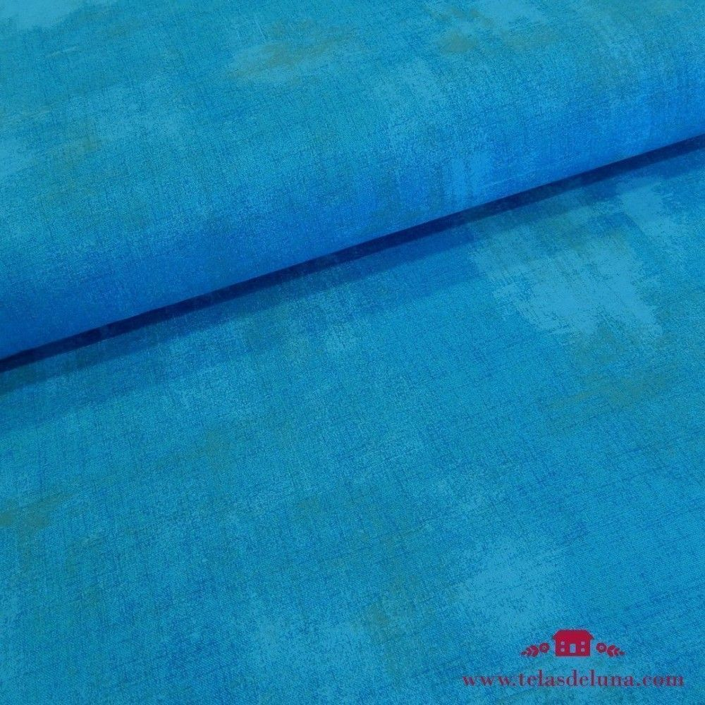 Tela vintage azul eléctrico