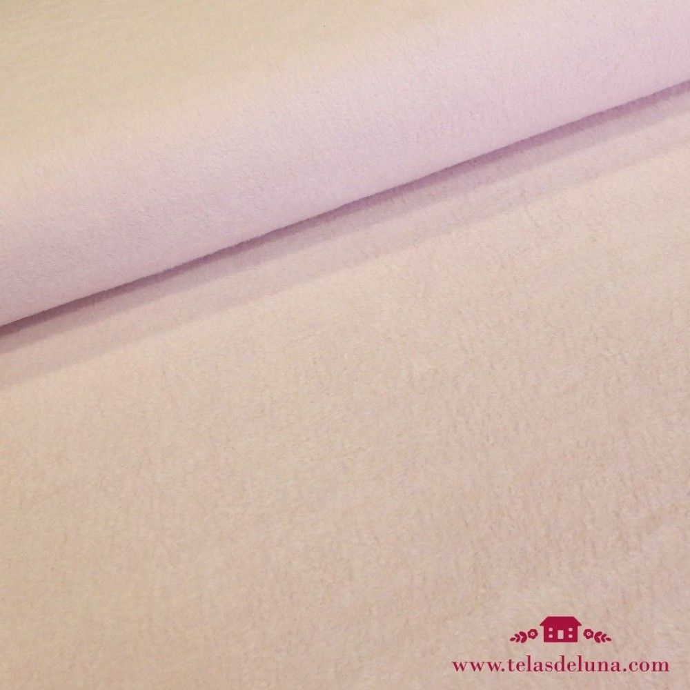 Tela forro polar rosa