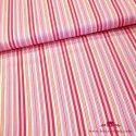 Tela a rayas diferentes tonalidades rosa