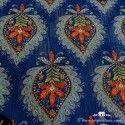 Tela azul bohemio Kaffe Fassett