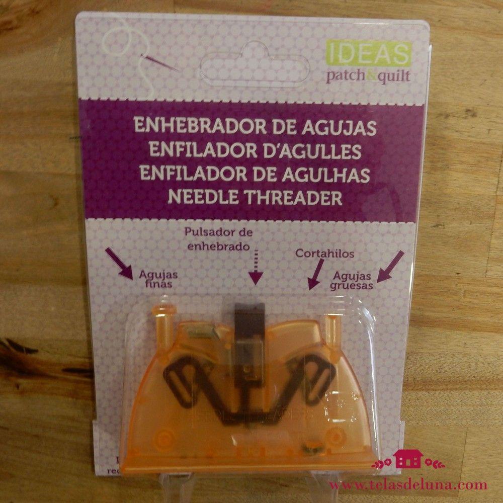 Enhebrador agujas doméstico