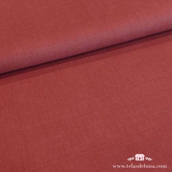Tela lisa roja Moda Fabrics