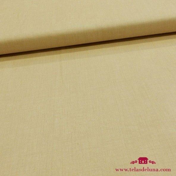 Tela beige lisa Moda Fabrics