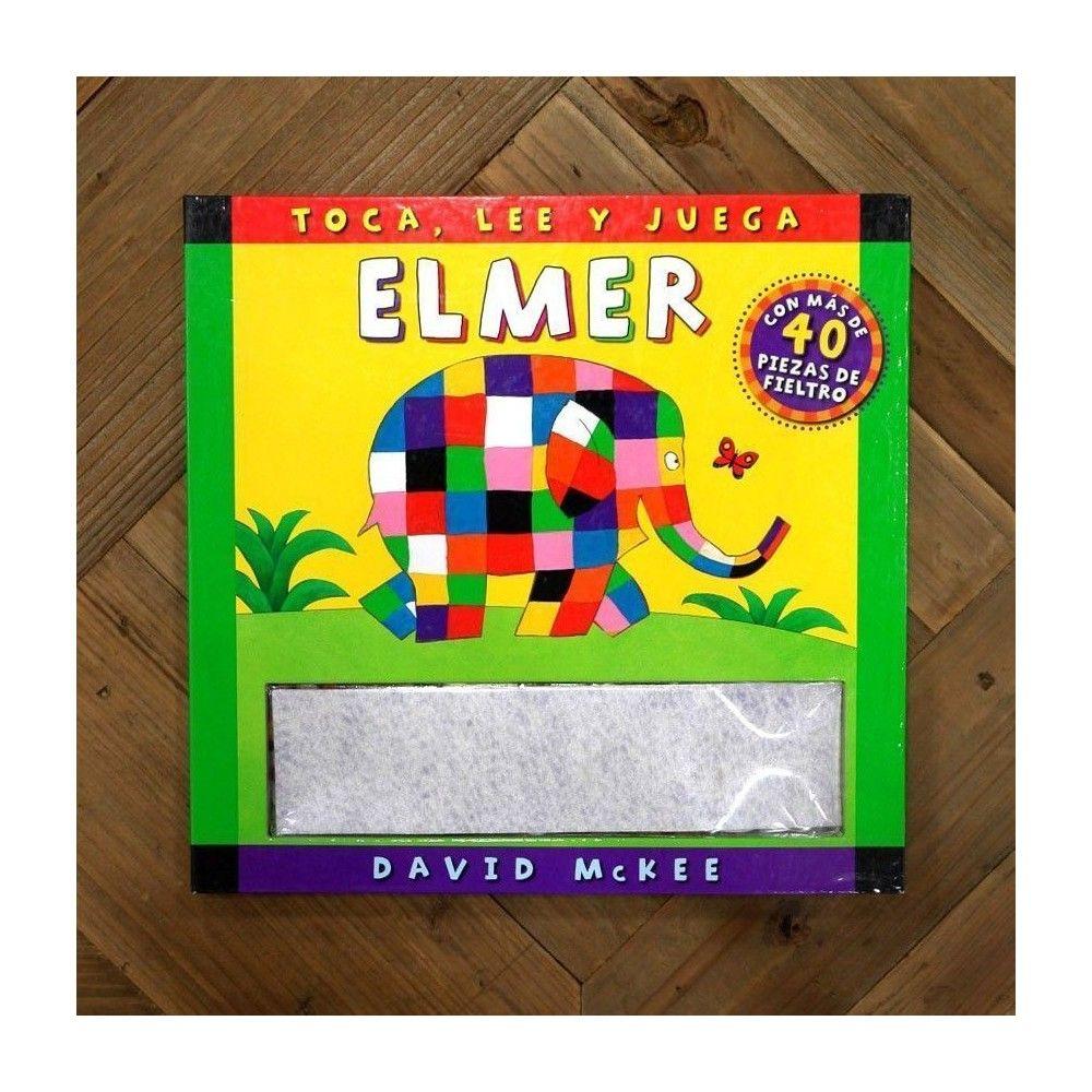 Toca, lee y juega. Elmer