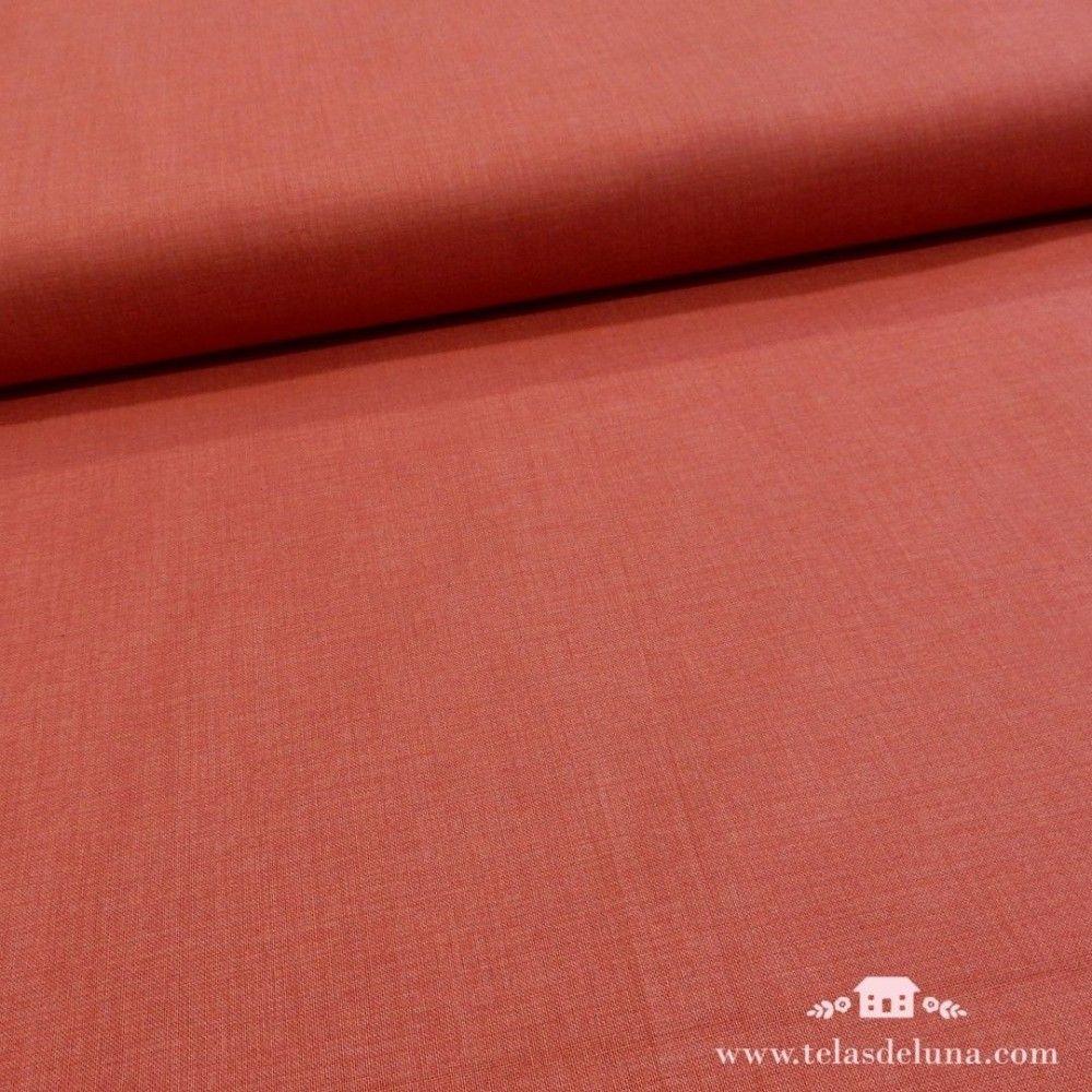 Tela lisa rojo fresa Moda Fabrics