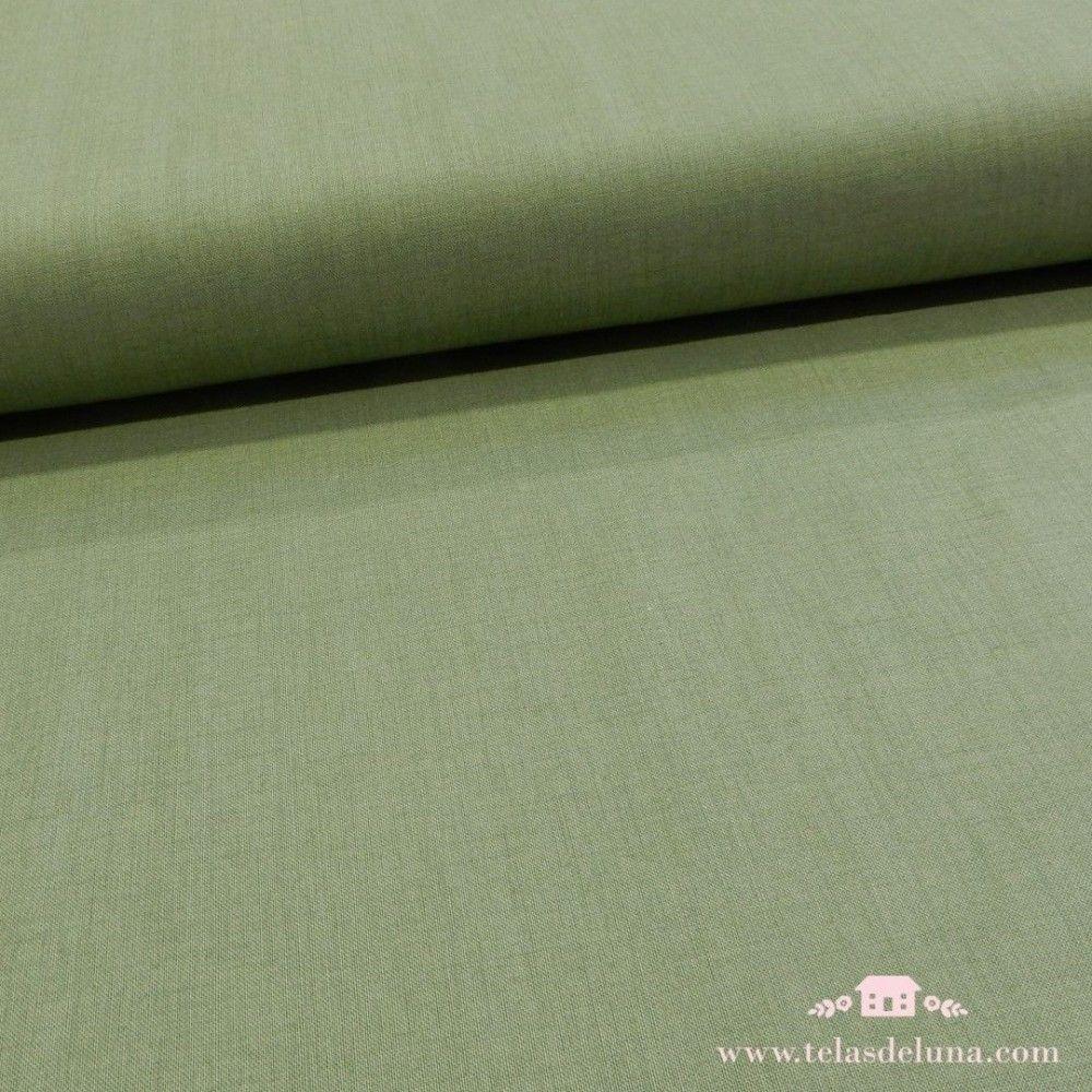 Tela verde lisa Moda Fabrics