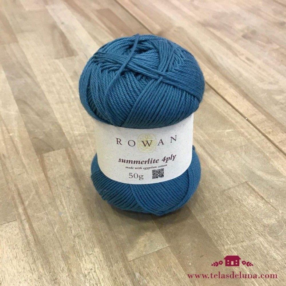 Lana Rowan azul 428