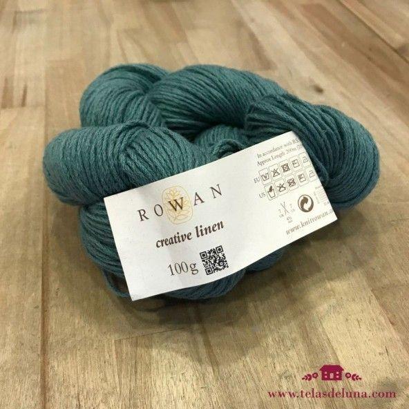 Lana Rowan verde azulado 625