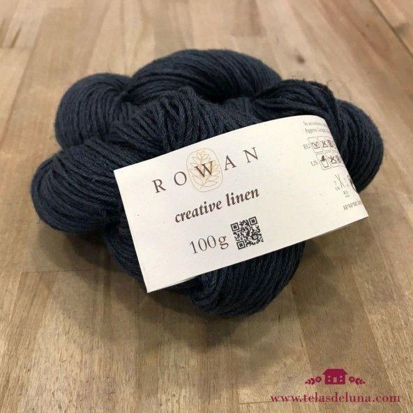 Lana Rowan azul grisaceo 635