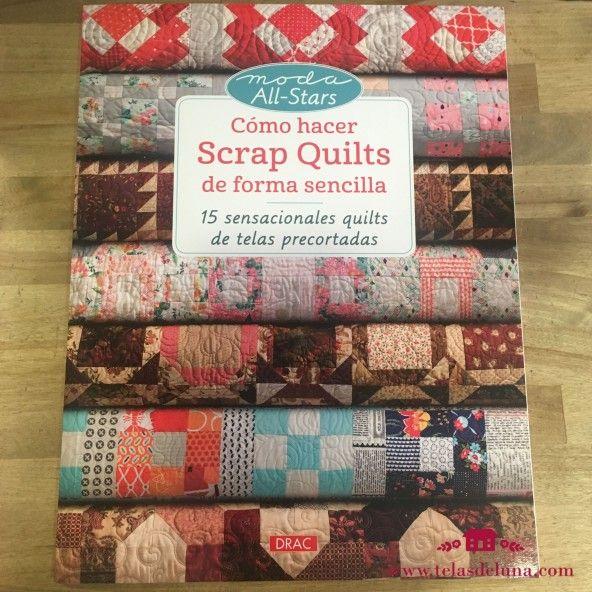 como hacer scrap quilts
