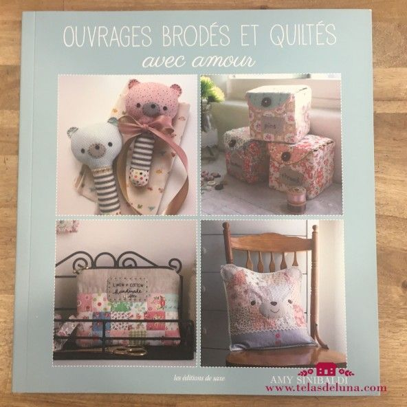 ouvrages brodes et quiltes