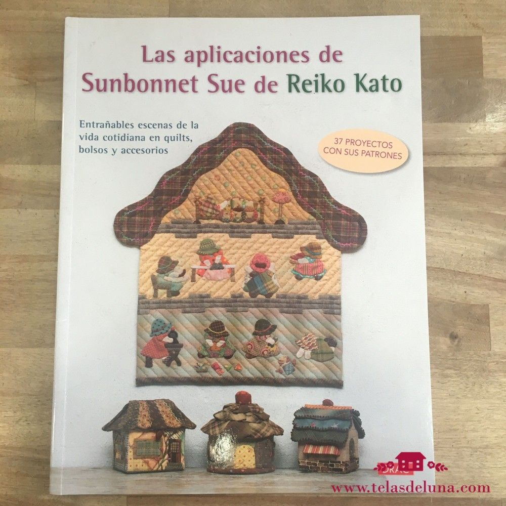 Las apliaciones de Sunbonnet Sue de Reiko Kato